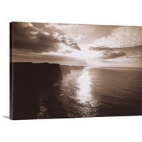 Premium Thick-Wrap Canvas entitled The Cliff Of Moher Ireland