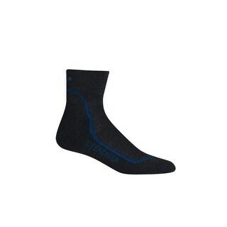 Icebreaker 2014/15 Men's Hike+ Lite Mini Sock - 100327 - jet heather/cadet/black