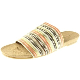 Chinese Laundry Womens Famous Open Toe Printed Dress Sandals - 9
