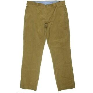 Polo Ralph Lauren Mens Flat Front Classic Fit Corduroy Pants