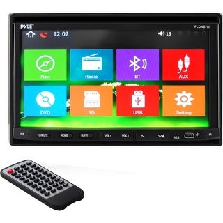 "Pyle Audio PLDNB78I Pyle PLDNB78I Automobile Audio/Video GPS Navigation System - In-dash - 7"" - Touchscreen - Microphone,"