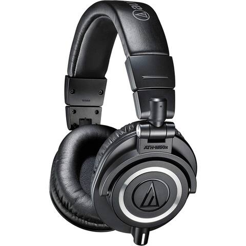 Audio-Technica Professional Studio Monitor Headphones - Black