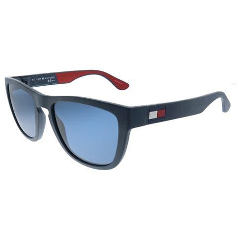 Tommy Hilfiger TH 1557/S 8RU Unisex Blue Frame Blue Lens Sunglasses