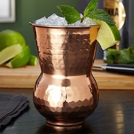 Monroe Hammered Copper Tumbler