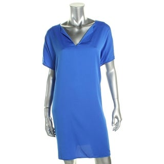 Diane Von Furstenberg Womens Kora Casual Dress Silk Short Sleeves