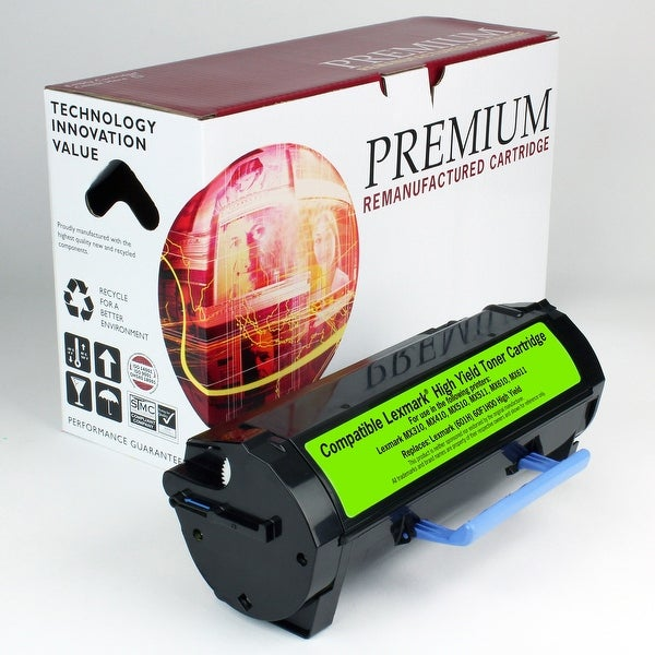 Re Premium Brand replacement for Lexmark MX310dn Toner (10,000 Yield)