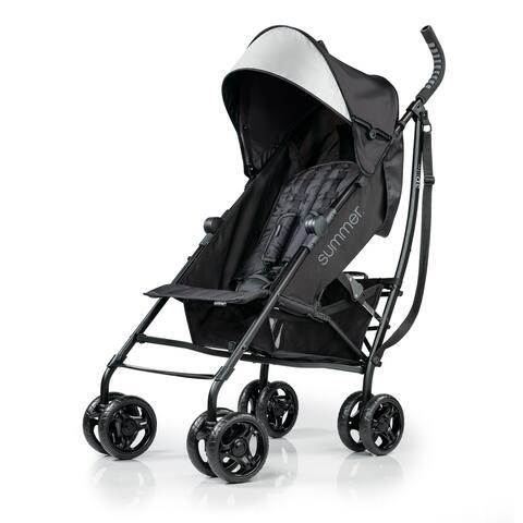 Summer 3Dlite Convenience Stroller, Jet Black - 40.5 x 10.2 x 8.5 inches