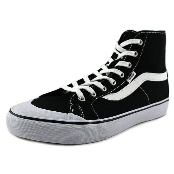 6664f6df87 Shop Vans Black Ball Hi SF Men Round Toe Canvas Black Sneakers - Free  Shipping Today - Overstock - 20099696