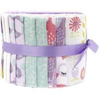"Fabric Palette Jellies 2.5""X42"" 20/Pkg-Pookie Luna"