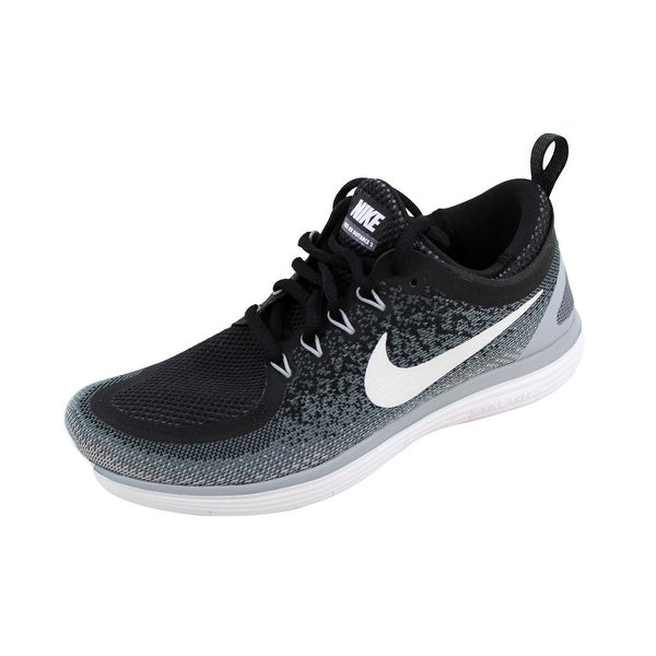 Nike Women's Free RN Distance 2 White/White-Gum Yellow 863776-001 Size 7