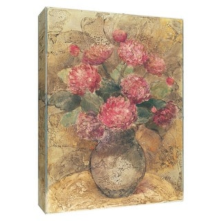 "PTM Images 9-154671  PTM Canvas Collection 10"" x 8"" - ""Vase of Chrysanthemum"" Giclee Flowers Art Print on Canvas"