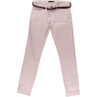 Zara Basic Mens Colored Flat Front Casual Pants - 31