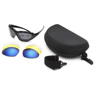 West Coast Unisex-Adult Multi Lense Adjustable Google Sunglasses
