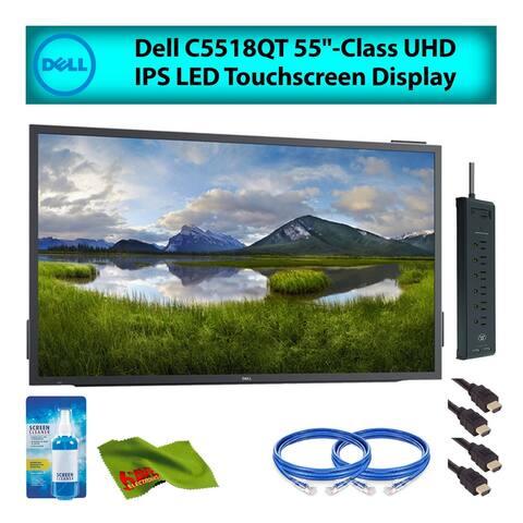 "Dell 55"" (C5518QT) UHD IPS LED Touchscreen Display Monitor (Renewed)"