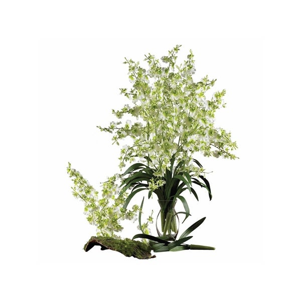 Nearly Natural Dancing Lady Silk Orchid Flower - 6 Stems