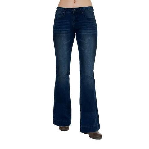 Cowgirl Tuff Western Denim Jeans Women Just Trouser Medium Wash