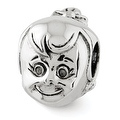 Sterling Silver Reflections Little Girl's Head Bead (4mm Diameter Hole) - Thumbnail 0