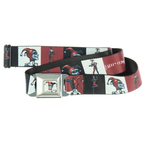 Harley Quinn Seatbelt Belt-Holds Pants Up