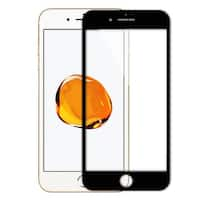 Tempered Glass 9H Hardness 3D Round Screen Protector Black for iPhone 7 Plus