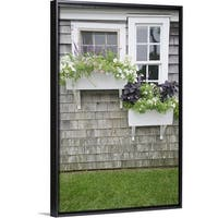 Window Boxes, Nantucket - Multi-Color