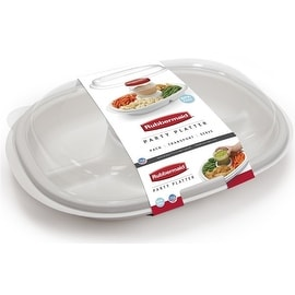 Rubbermaid 1910335 Party Platter Food Storage Container