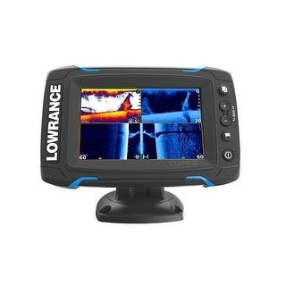 Refurbished Lowrance Elite-5 Ti Touch Remanufactured Fishfinder 055-12421-001 Elite-5 Ti 5 Inch Touch Remanufactured