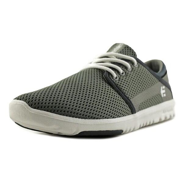 Etnies Scout Men Grey/White/Green Skateboarding Shoes
