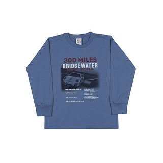 Boys Long Sleeve Shirt Graphic Tee Kids Casual Pulla Bulla Sizes 2-10 Years