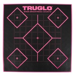 Truglo tg14p6 truglo tg14p6 target 5-diamond 12x12 pnk 6pk