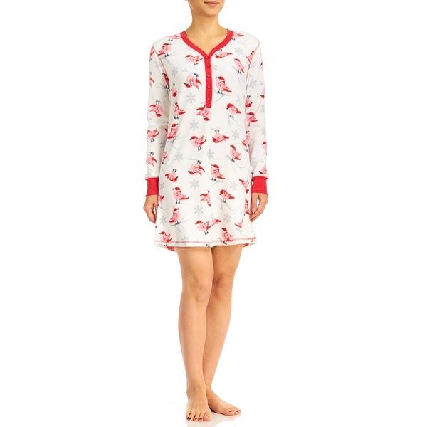 PJ Couture Women's Cardinals Fireside Chat Sleepshirt