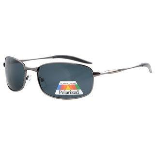Eyekepper Metal Frame Fishing Golf Cycling Flying Outdoor Polarized Sunglasses Gunmetal