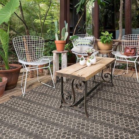Indoor/ Outdoor Havannah Geometric Rug