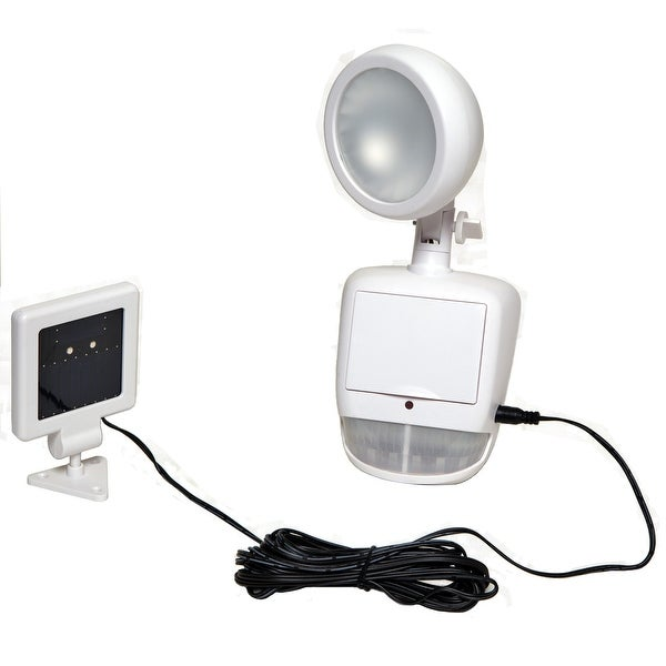 Boston Harbor Motion Sensor Solar Security Light, 100 Lumens