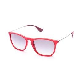 Ray-Ban Chris Sunglasses Red - Small