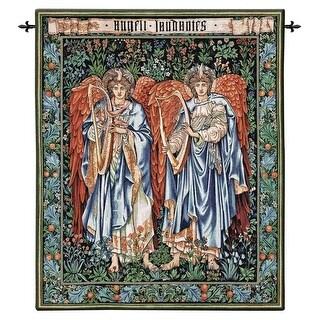 ANGELI LANDENTE TAPESTRY W/ ROD DESIGN TOSCANO Angels Angel Angel Tapestry