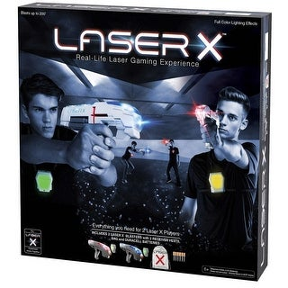 Laser X Two Player Laser Tag - Multi