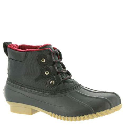 61cd3fd74 Tommy Hilfiger Womens Romolan Rubber Closed Toe Ankle Rainboots - 6