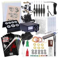 Starter Tattoo Kit - 2 Machine Equipment Set