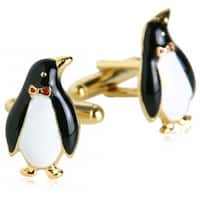 Gold Penguin Animal Marine Life  Cufflinks