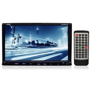 7'' Double DIN TFT Touch Screen DVD/VCD/CD/MP3/MP4/CD-R/USB/SD-MMC Card Slot/AM/FM/iPod Connector