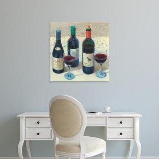 Easy Art Prints James Wiens's 'Wine Bouquet I' Premium Canvas Art
