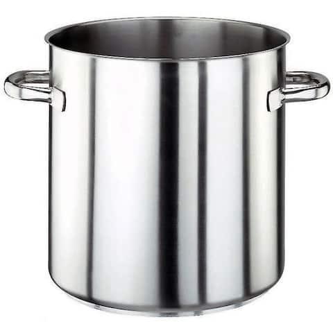 Paderno World Cuisine 158 1/2 Quart Stainless Steel Stock Pot