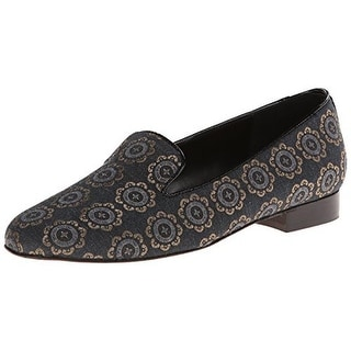 VANELi Womens Arlen Smoking Loafers Embroidered Slip On - 6 medium (b,m)