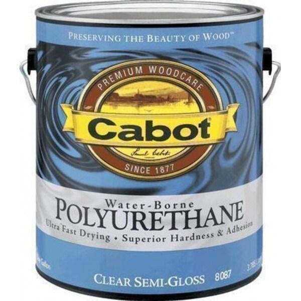 Cabot 8082 QT Water-Borne Polyrethane 1Qt - Satin