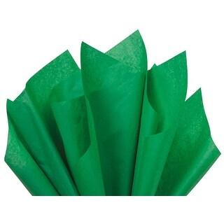 "(480 pack) Solid Festive Green Tissue Paper 20 x 26"" Sheet Half Ream"
