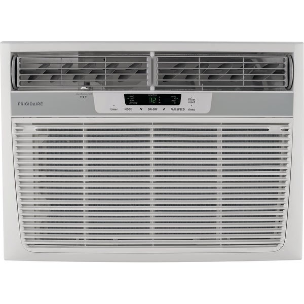 Frigidaire FFRH1822R2 18500 BTU 230 Volt Window Air Conditioner with 16000 BTU Heater and Remote Control - White