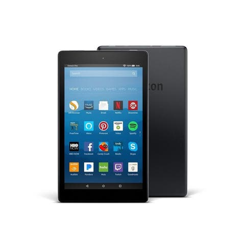 """Fire HD Tablet - 8 Inch - Black Hands-Free with Alexa 8"""" HD Display, 32 GB - with Special Offers"""