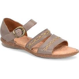 B.O.C Womens Lise Open Toe Casual Ankle Strap Sandals