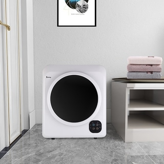 Link to 3.5 cu.ft Home Button Dryer 13lb Laundry Dryer with 2 Pieces of Filter Cotton Similar Items in Large Appliances