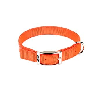 "Remington Double-Ply Reflective Hound Dog Collar Orange 22"" x 1"" x 0.2""